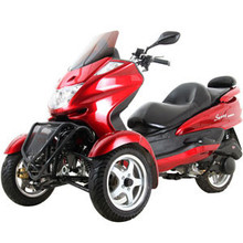 new Trike Gas Motor Scooters 150cc 3 Wheels Moped