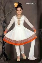 White Salwar Kameez For Girls