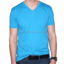 2015 Fashion Wholesale Fashion v-neck T-shirt