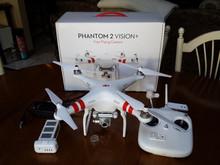 Brand New DJI Drone Phantom 2 Vision Plus V3.0 RC Quadcopter Drone for GoPro Hero 3 2 1 Camera -Aerial Quad UAV GPS
