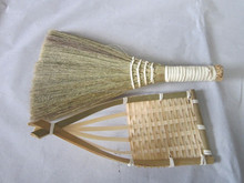 HOT TREND 2015, LUCKY COMET IN HOME WITH RATTAN BROOM, USEFUL BRUSH CLEANING SURFACE MAT