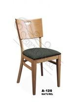 wooden elegant restaurant chair