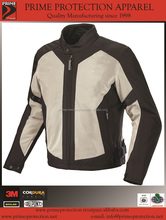 Motorcycle jacket /Motorbike Jacket for summer season with CE Approved Armors