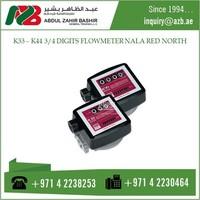 K33 - K44 DIGITS FLOW METER NALA RED NORTH NT0001001