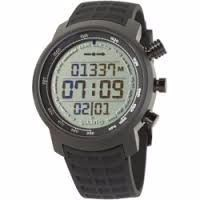 BUY 2 GET 1 FREE Suunto Elementum Terra Altimeter Watch Positive Black Rubber, One Size