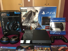 Sale for Sony Playstation 4 ,PS4 + 15 GAMES + 2 EXTRA CONTROLLERS - NEW , WARRANTY , ORIGINAL