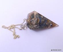 Orgonite pendolo | lapislazzuli pietra