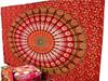 HAnd block cotton exclusive mandala printed bedspread wall hanging mandala tapestries