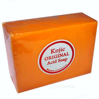 Kojic Acid Soap For Skin Whitening Bleaching - 4.2 oz Bar w/ Papaya Philippines