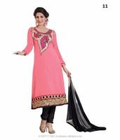 2015 Lady Fashionable Full Length anarkali Dress