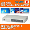Real-time KVM switch for laptop computer compatible with 1920x1080 resolution
