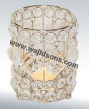 Classic shiny crystal votives use in decoration of all types of festival