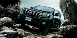 TOYOTA LAND CRUISER PRADO New cars wholesale in Japan , car parts also available