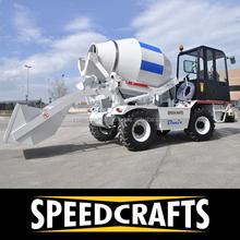 Self Loading Concrete Mixer- DS 1000 / DS 2500 / DS 4000