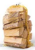 Birch/ Oak firewood in net bags From Ukraine
