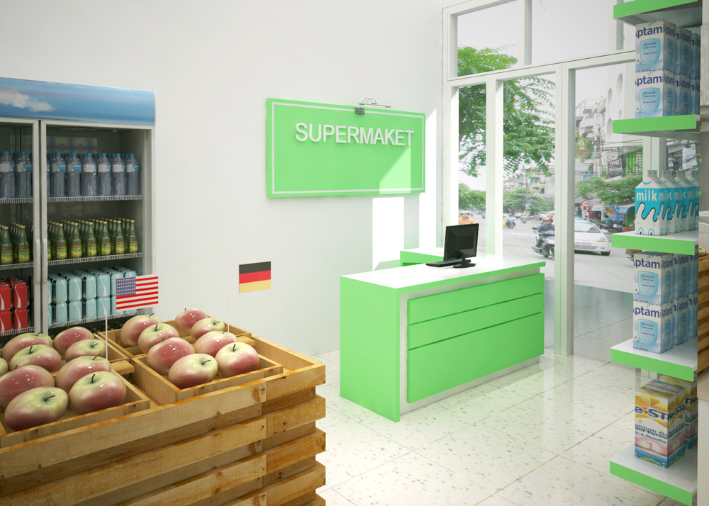 Interior Designer Furniture Delivery Liability Waiver ~ New design mini supermarket interior sf