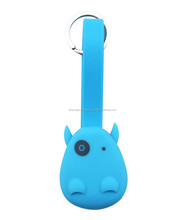 Dual-Port Super Cute Hippo Style 2 in 1 USB Charging Cable for Most Devices Samsung Android Smart Phone
