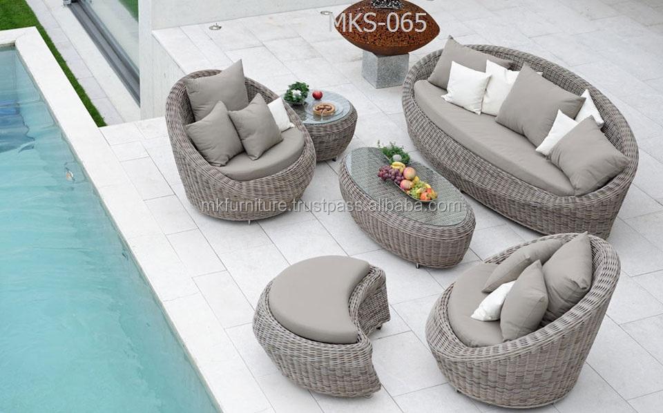 design in stile moderno divano da giardino set-pvc divano da ... - Mobili Da Giardino In Rattan Vita Moderna