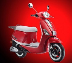 (PEDA Motor Thailand Shipping) 2015 Summer Promotion Big Discount Motorcycle for Sale 150cc EEC Retro Scooter (Veroni)