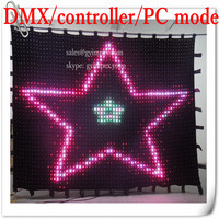 p4 4x2 indoor led curtain led vision curtain for dj party