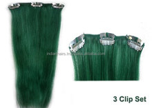 Afro Kinky Curly Clip in Hair Extentions