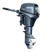 Used Yamaha 9.9 hp 9.9hp Outboard Motor Engine