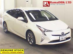 #41871 TOYOTA PRIUS S TOURING SELECTION - 2016 [CARS- SEDAN CARS] Chassis #:ZVW50-6011585
