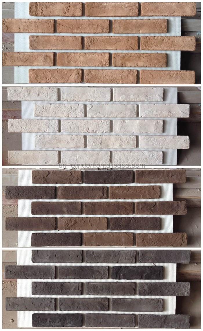 brique de parement comme panneau de mur pour mur int rieur et ext rieur rev tement plaque. Black Bedroom Furniture Sets. Home Design Ideas