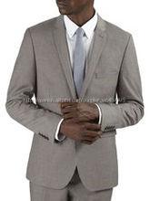 Elegante traje de hombre vestido de moda de alta calidad por encargo traje a rayas