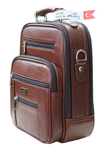 High Quality Leather, Steel Cased, Very Stylish Men's Bags
