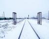 Railroad radiation monitor post Yantar 2-L