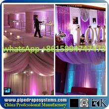 RK Wholesale pipe and drape for outdoor event, pipe and drape curtains
