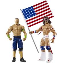 WWE Battle Pack John Cena & Ultimate Warrior 2-Pack Action Figure Set