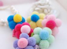 Any color & size craft PomPoms wholesale