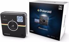 Brand New Polaroid Socialmatic Instant Digital Camera (Black)