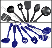 6/8 pcs Modern Nylon Utensil Sets