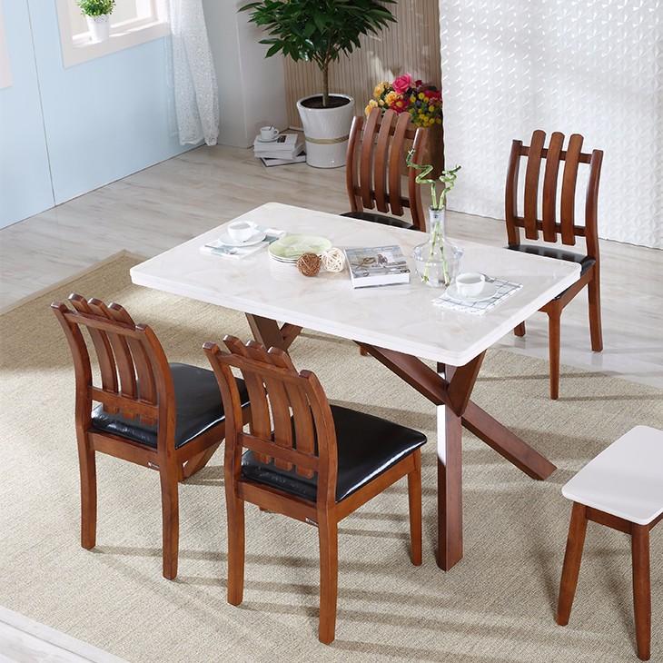dessus en marbre table manger ensemble de meubles de maison salle manger en marbre - Salle A Manger En Marbre