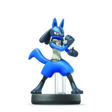 Nintendo Amiibo lucario figure