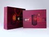 2015 Custom Mooncake Box , Card Mooncake Box with Beautiful Bag, Mooncake Box Design Fancy Paper