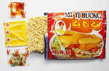 Curry Chicken Fired intant noodles in bag 70 gr