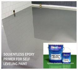Solventless Moisture resistance Colourless Epoxy Primer JONES SEALER for Self Leveling Coating