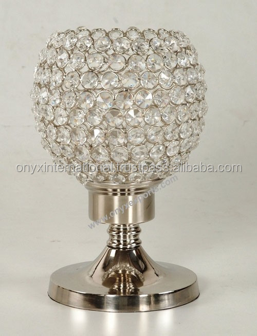 Home Decorative Crystal Table Lamps Home Goods Table Lamps - Buy Solid Base Lamp Crystal Shade ...
