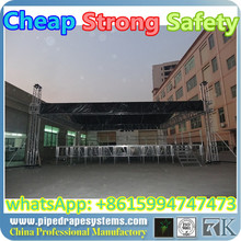 professional skills at making event stage truss with roof spigot aluminum truss