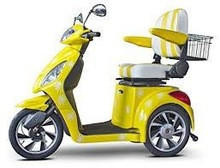 For sale Discount EWheels EW82 Happy Day Custom Mobility Scooter, Yellow & White Electric Scooter