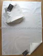100% cotton white tea towel blank for printing