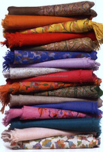 kashmiri pashmina shawls for winter