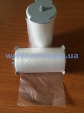Sanitary plastic film roll for automatic toilet seat cover