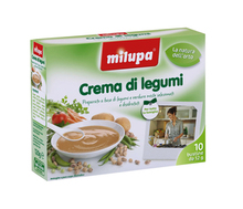 Milupa Legumes creme Legumes 10 saquetas