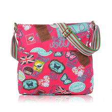 JC wholesale cheap Canvas bags London Print Cross body Bag , Women Bag,Lady crossbody bag