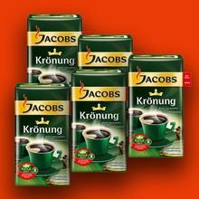Jacobs Kronung ground coffee 500g , Lavazza coffee, DALLMAYR PRODOMO COFFEE
